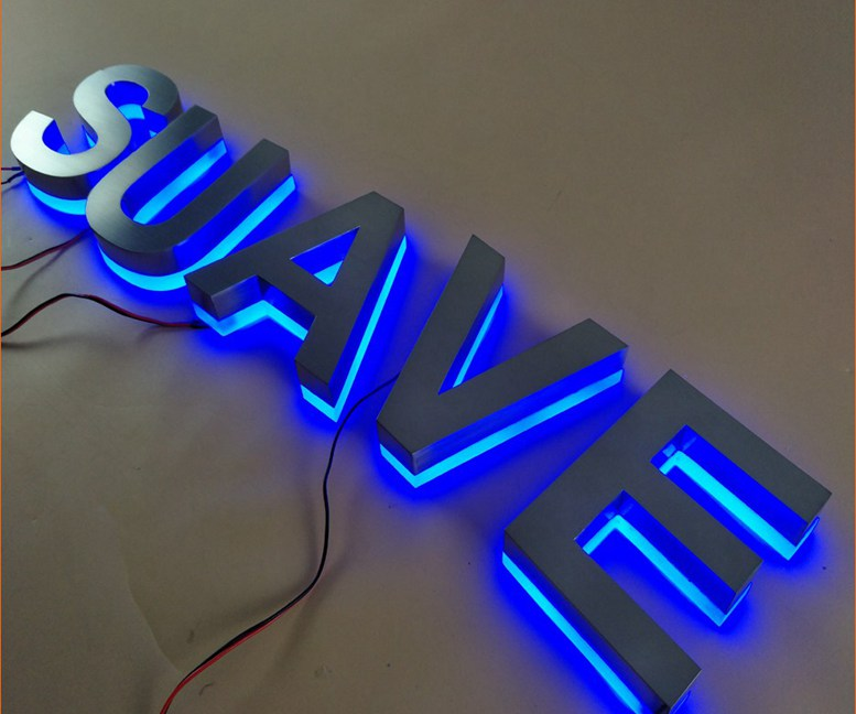 Backlit Letters | Vzom Signs - LED Illuminated Signs & Letters