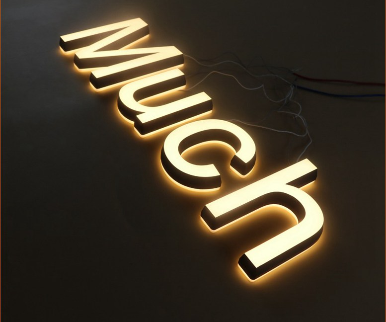 lighted channel letters metal letters - Monza berglauf-verband com