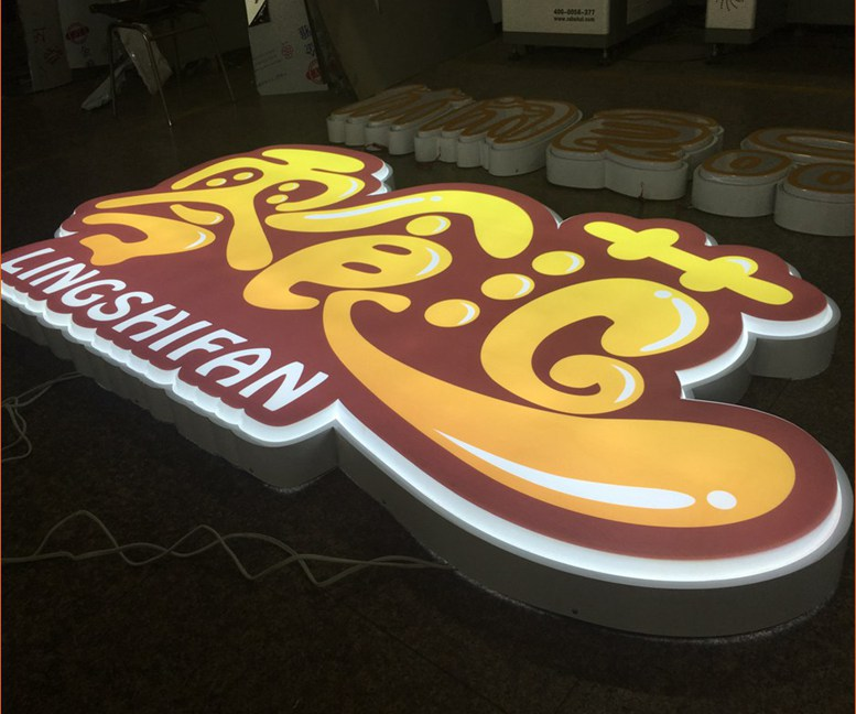 Design Acrylic Faces Led Customized Light Box Board 454