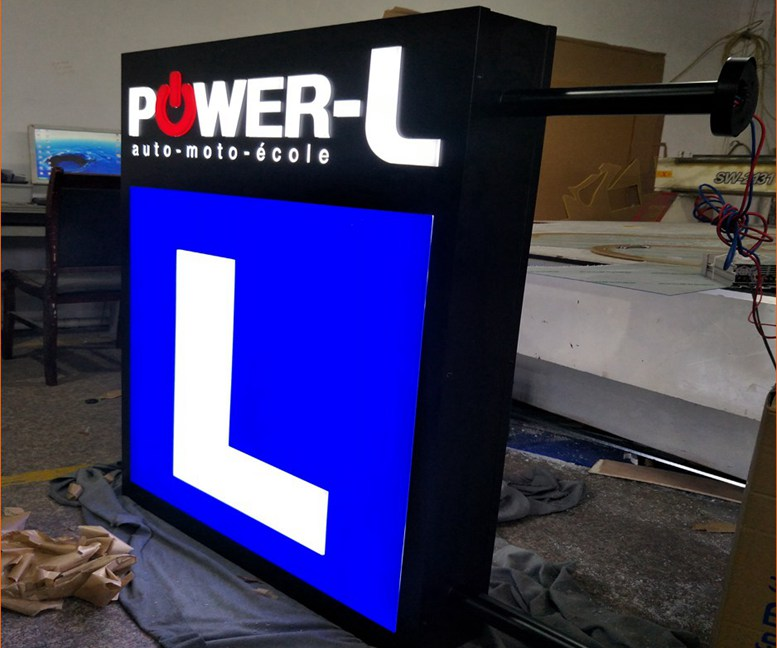 Light box vzom signs led illuminated signs letters products light box workwithnaturefo